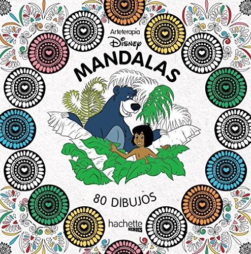 Arteterapia. Mandalas Disney (Hachette Heroes - Disney - Colorear)