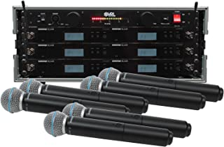 Shure BLX24R/B58 6 Pack Wireless Handheld Mic System with VRL Power Supply