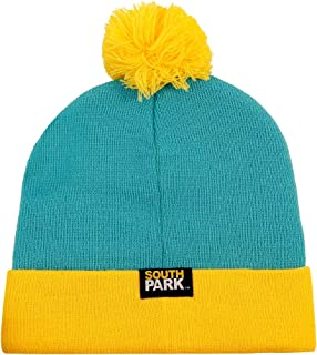 CONCEPT ONE South Park Eric Cartman Cosplay Knit Beanie Hat Turquoise, Yellow