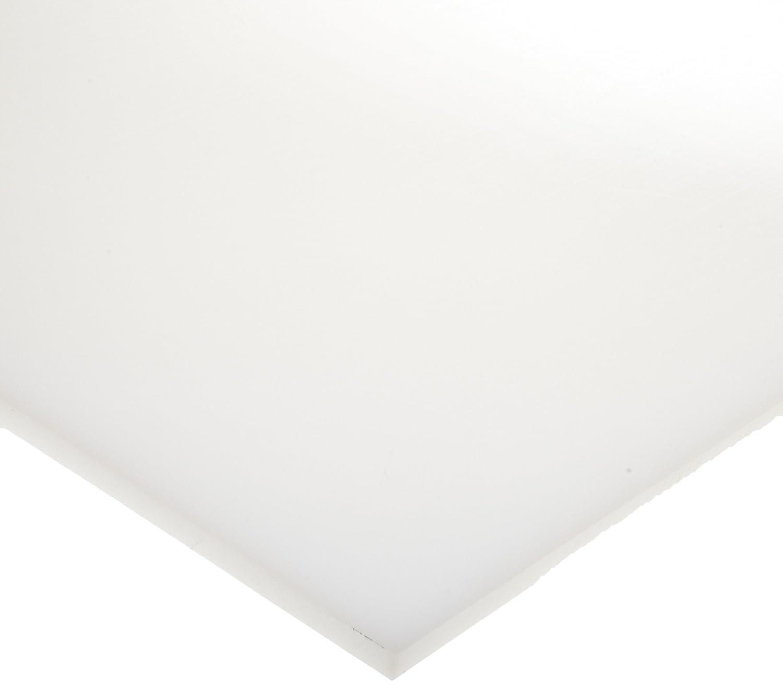 HDPE (High Density Polyethylene) Sheet, Opaque White, Standard T