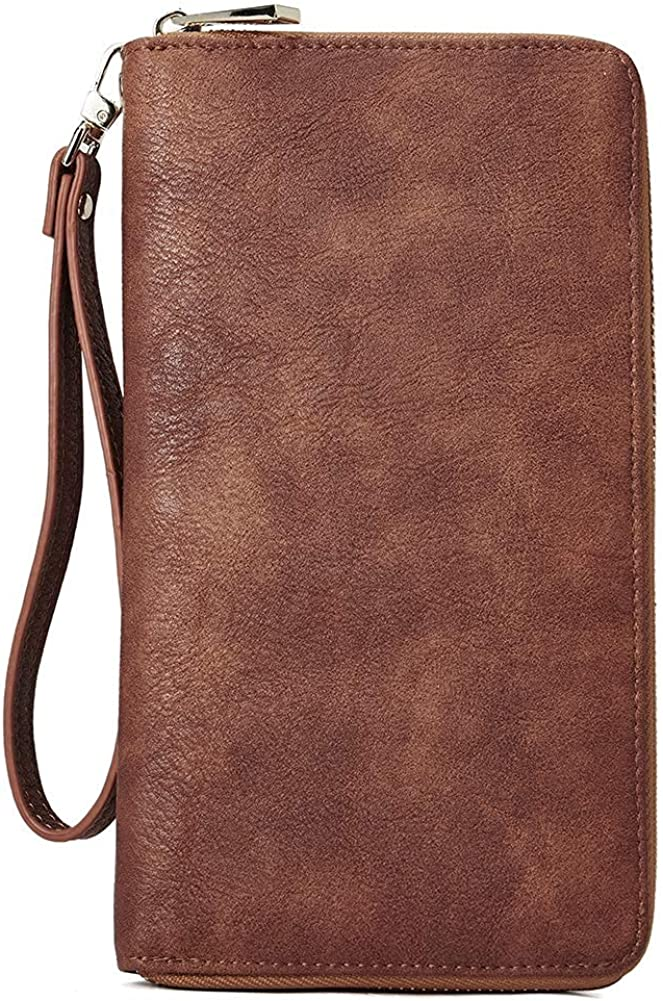 CLUCI Small Crossbody Bag for Women Bundles with Wallet Brown