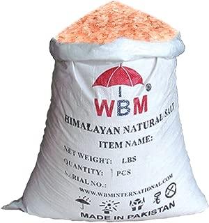 Himalayan Chef Natural Pure Himalayan Pink Salt, 50 Pound Coarse Grain Salt