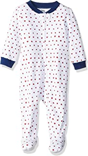 Amazon Essentials Baby Zip-Front Footed Sleep and Play