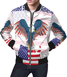 Best american usa flag eagle bomber jacket Reviews
