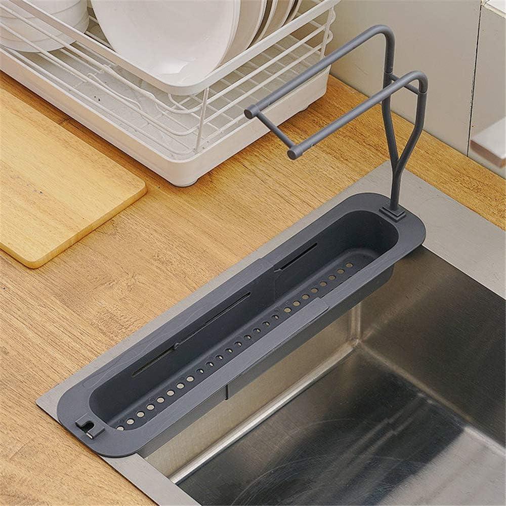 Telescopic Sink Holder Adjustable Organizer 25% OFF High order Kitchen Drainer