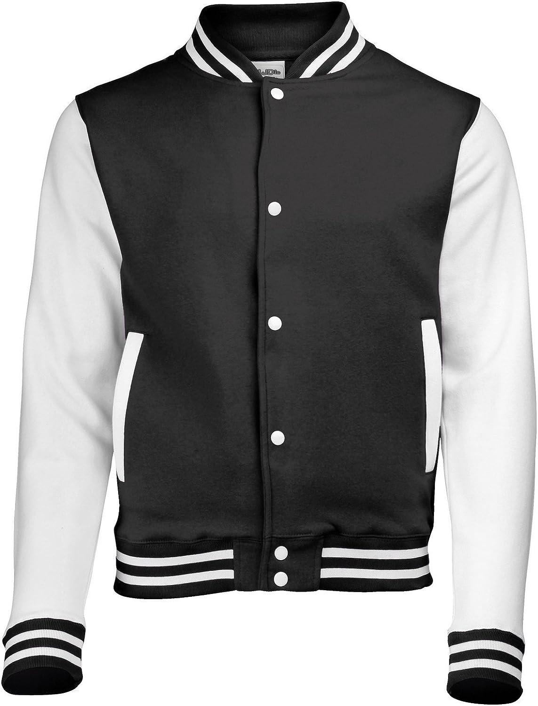 AWDis Hoods  Boys Varsity Letterman Jacket