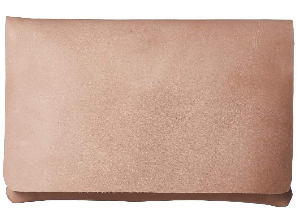 ABLE Mare Zip Clutch (Fog) Handbags