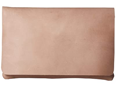ABLE Mare Zip Clutch (Fog) Handbags