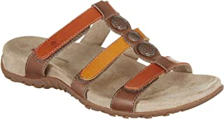 Womens Amy Sandals 9 Brown multi