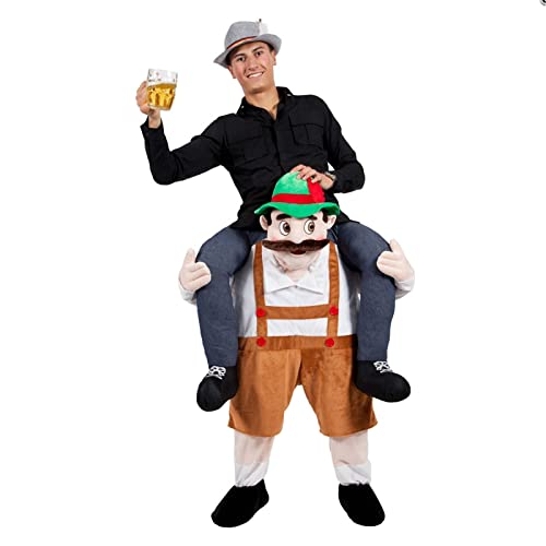 Carry Me® Bavarian Beer Guy Adult Costume One Size