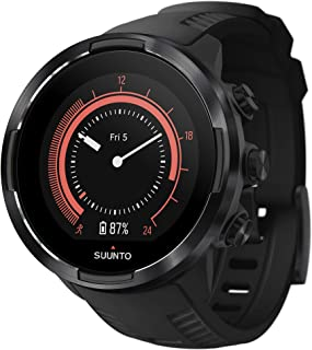 Suunto 9 G1 Baro Black Akıllı Saat Yetişkin, Siyah, Tek Beden