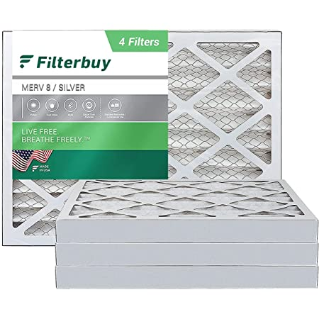 Nordic Pure 20x25x2 MERV 12 Pleated AC Furnace Air Filters 3 Pack