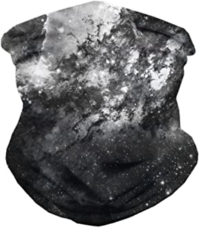 INTO THE AM Galaxy Face Mask Bandanas for Dust Sports Outdoors Festivals