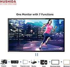 55inch Interactive Digital Signage TV Display, HUSHIDA 1080p 10-Point Multi Infrared Touch Screen Commercial Full HD Display Monitor