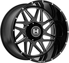 Hostile H108 Sprocket 22x12 6x139.7 -44mm Black/Milled Wheel Rim