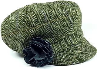 Biddy Murphy Women's Newsboy Cap 100% Wool Made in Ireland
