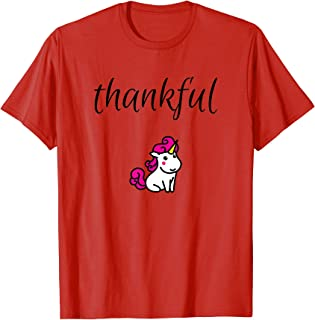 Thankful Unicorn GRAPHIC T SHIRT FOR WOMEN AND MEN T-Shirt