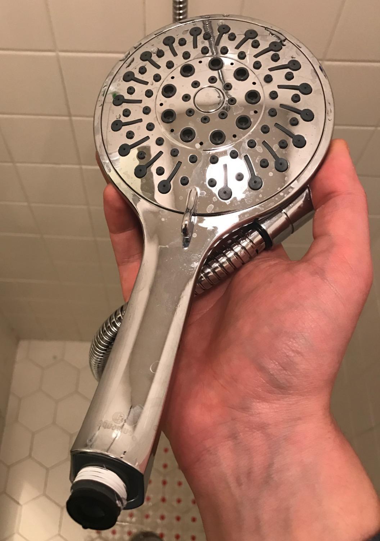 Aquarius Handheld Shower Head With Hose (Extra Long) Luxury Spa ...