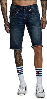 True Religion Men's Ricky Super T Stretch Denim Shorts