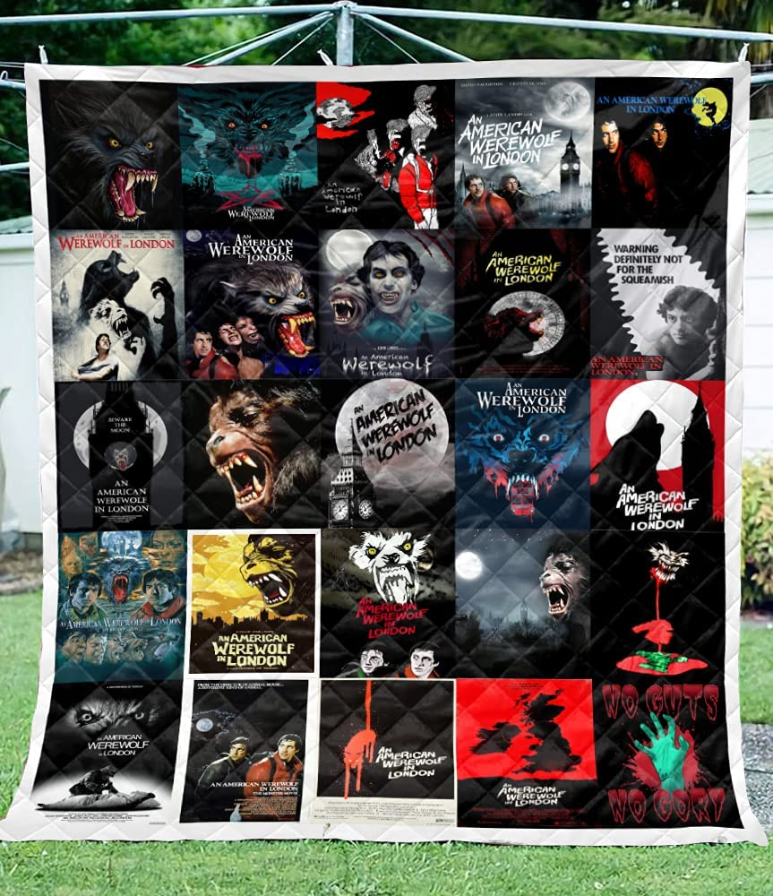 American Werewolf in London 0820 Movie safety Lap Blanket Horror Recommended Quilt