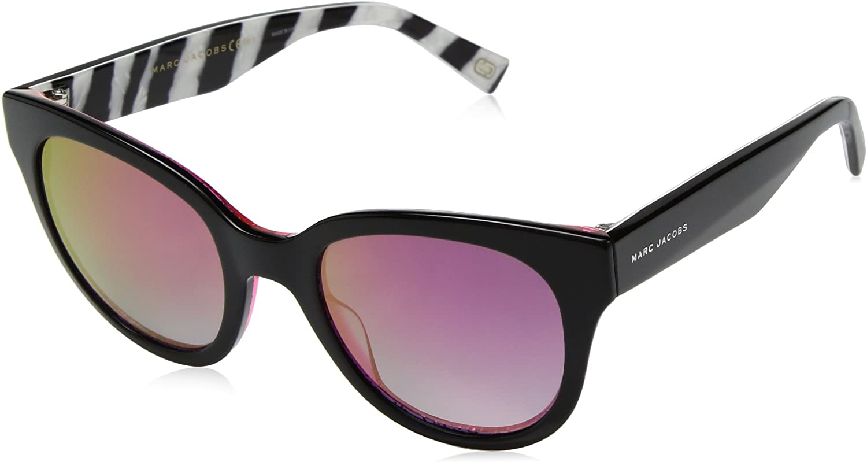 Marc Jacobs Women's Marc231s Polarized Cateye Sunglasses BKFCHSGLT 50 mm