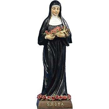 Statua Santa Rita cm 32 in Resina by Paben