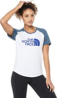 The North Face Women's Short Sleeve Half Dome TRI Blent Base-Ball TEE
