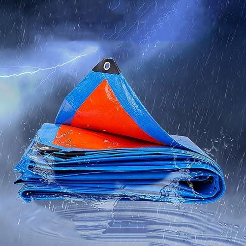 PBZY Tissu imperméable à l'eau Tissu d'auvent extérieur bache de Tissu imperméable Parasol tissé de PE Tissu d'auvent de Prougeection du soleil-160g   m2, épaisseur 0.35mm (19 Tailles)