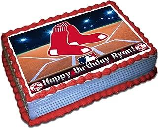 Fantastic Amazon Com Boston Red Sox Grocery Gourmet Food Birthday Cards Printable Nowaargucafe Filternl