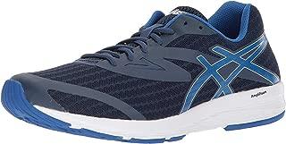 ASICS Men's Amplica Black/Silver/Safety Yellow Running Shoe