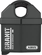 ABUS Graniet hangslot 37/60 #SZP - met veiligheidskaart en sleutel met LED-licht - van gehard speciaal staal - 79150 - niv...