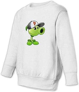 HsHdesign Child Long-Sleeve Peashooter Costume Graphic Sweatshirt for Spring/Autumn/Winter 2-6T