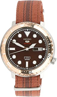 Seiko 5 Series Sports Watch With Canvas Strap -SRPC67J1