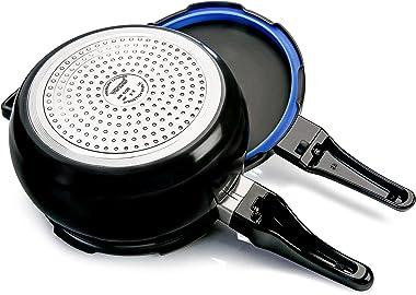 Vinod Hard Anodized Pressure Cooker (2.5 Liter)- Induction Friendly