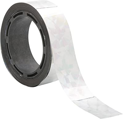 """Miracle-Gro SMG12138W 3/4"""" x 120' Scare Tape, Holographic"""