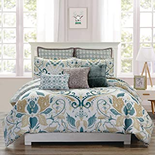 Best teal and gold comforter Reviews