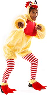 Best Funky Chicken Costume - Funny Silly Unisex Halloween Adult Body Suit Reviews