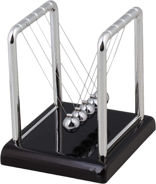 Walmine Seattle Mall 9x7.5x9cm Newton's Cradle Balance Toy Dec Mini Desk Ranking TOP3 Ball