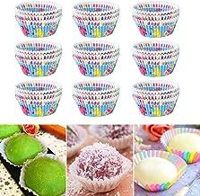 BOLORAMO Tasse à gâteau résistante à l'huile, Large éventail d'utilisations Tasse à gâteau Tasse à gâteau Non Toxique pour...