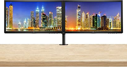 HP V24 24 inch TN Full HD 1920 x 1080 LED Backlit LCD Monitor 2-Pack Bundle with HDMI and VGA Ports, AMD FreeSync, 75Hz Re...