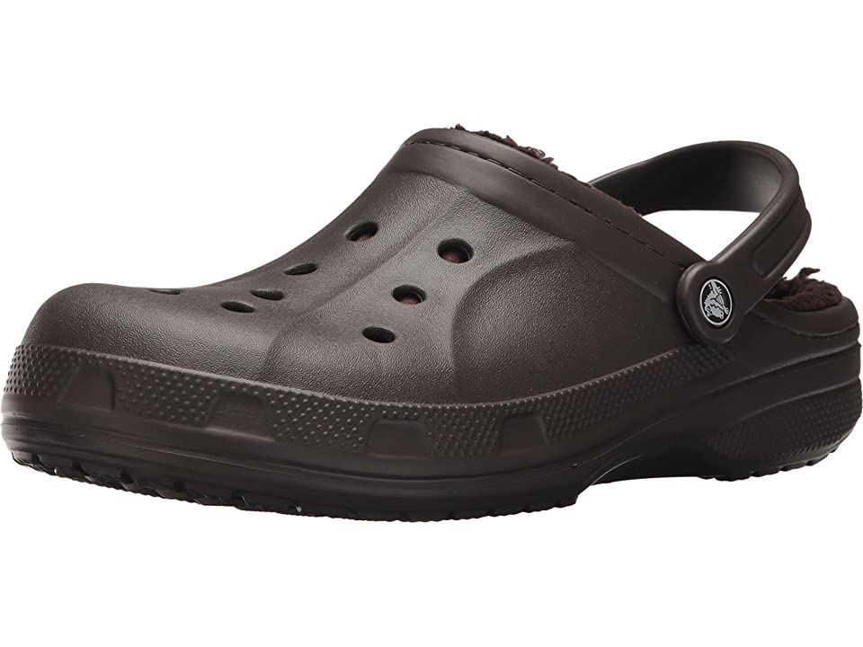 Crocs Ralen Lined Clog (Espresso/Espresso) Slippers, Brown