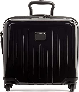 TUMI - V4 Compact Carry-on Wheeled Laptop Briefcase - 14 Inch Computer Case for Men and Women - Black
