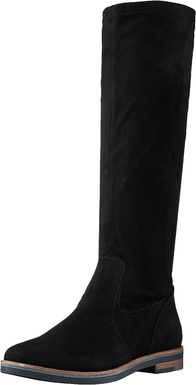 Marco Tozzi Panthea - 001 Black (Textile) Womens Boots