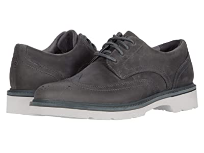 Rockport Charlee Wing Tip (Grey) Men
