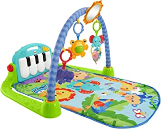comprar comparacion Fisher-Price Rainforest Piano-Gym - Manta de Juego parBebé (Mattel BMH49)