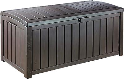 Superb Amazon Com Keter Comfy 71 Gallon Resin Outdoor Storage Pabps2019 Chair Design Images Pabps2019Com