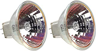 EiKO ENX Dichroic Reflector Light Bulb (Pack of 2), 82V, 360W, 4.39A, GY5.3 Base, 3300 Kelvin, 75 Hours Rated Life