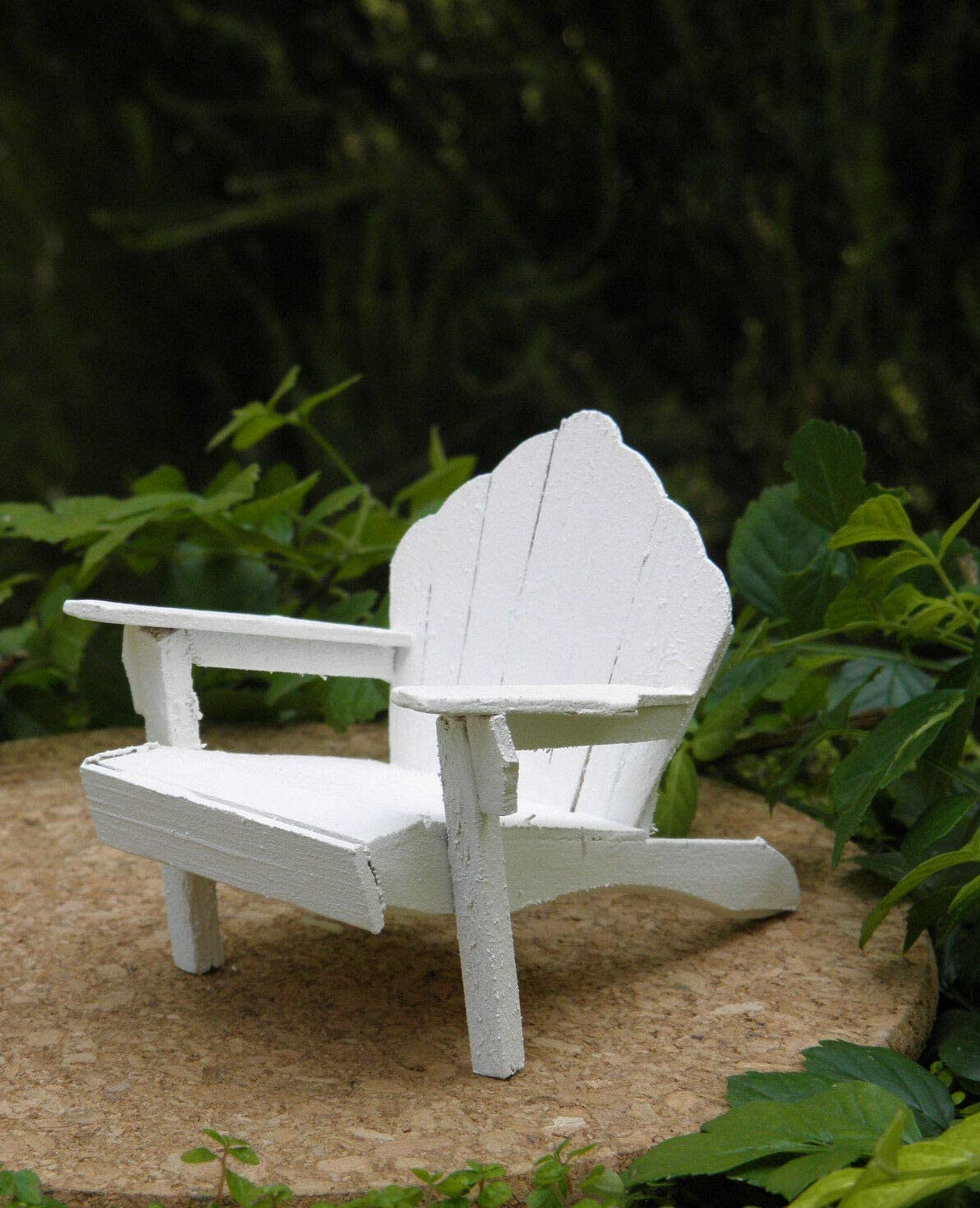 Miniature Attention brand Over item handling ☆ Dollhouse Fairy Garden Furniture Wood White Rustic A ~