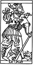 Posterazzi Poster Print Collection Tarot Card N'the Fool (Atonement).' Woodcut French Marseille 16Th Century, (24 x 36), Multicolored