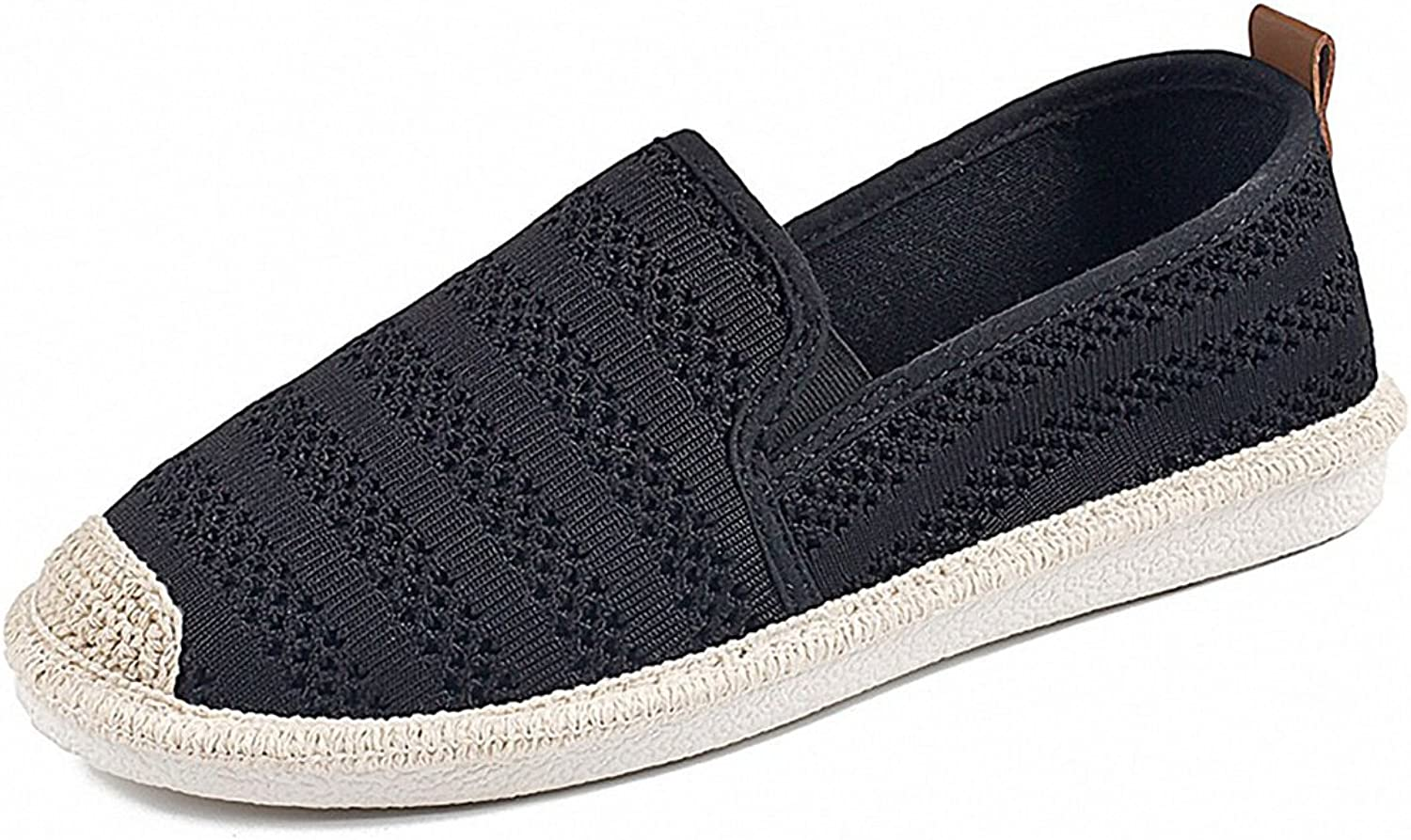 Women's Mesh Slip On Loafer Casual Flats Walking Espadrille Sneakers